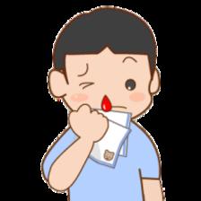 【入浴】 「鼻血」の入浴法 ~上を向くのは良くない~