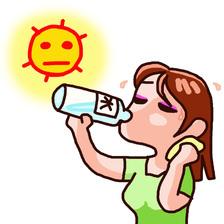 【入浴】 「熱中症(予防)」の入浴法 ~汗をかく習慣を身に付けよう~